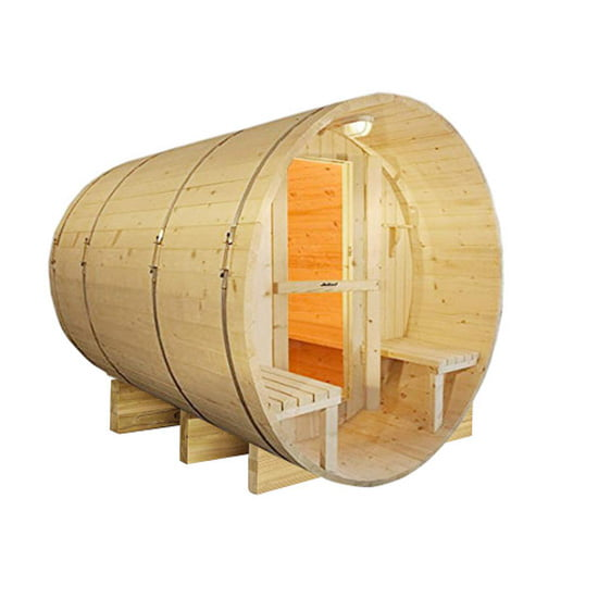 ALEKO 5-Person Finland Pine Electric Heater Sauna