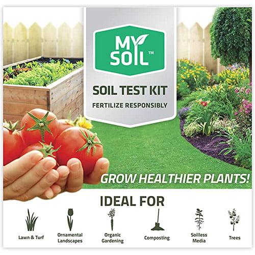 MySoil Soil Test Kit for Lawn and Garden