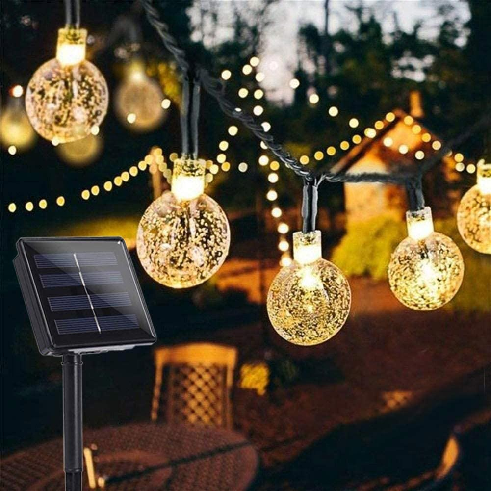 Bripower Solar-Powered Decorative Outdoor Fairy Lights