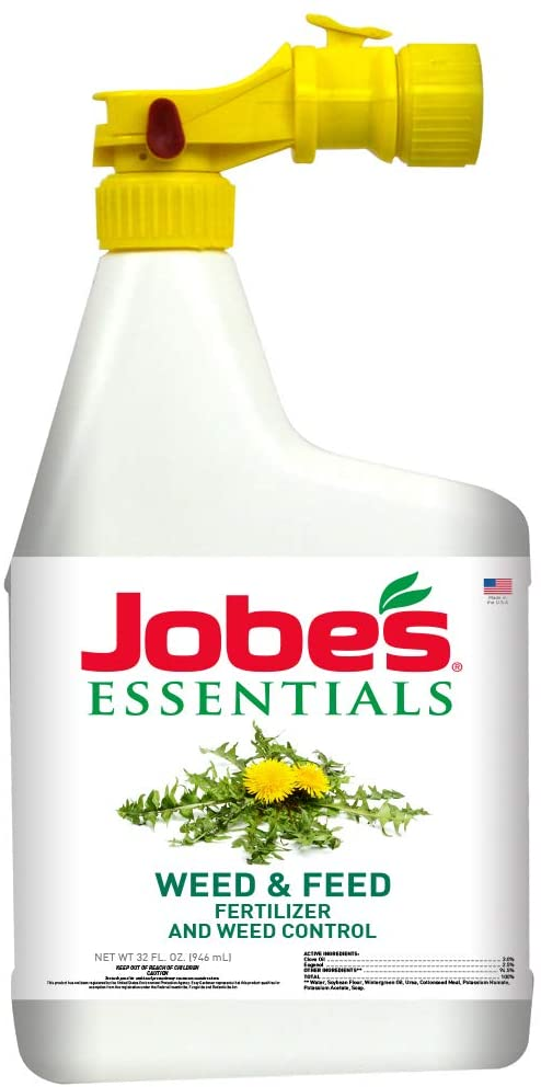 Jobe's Natural Liquid Weed and Feed Fertilizer