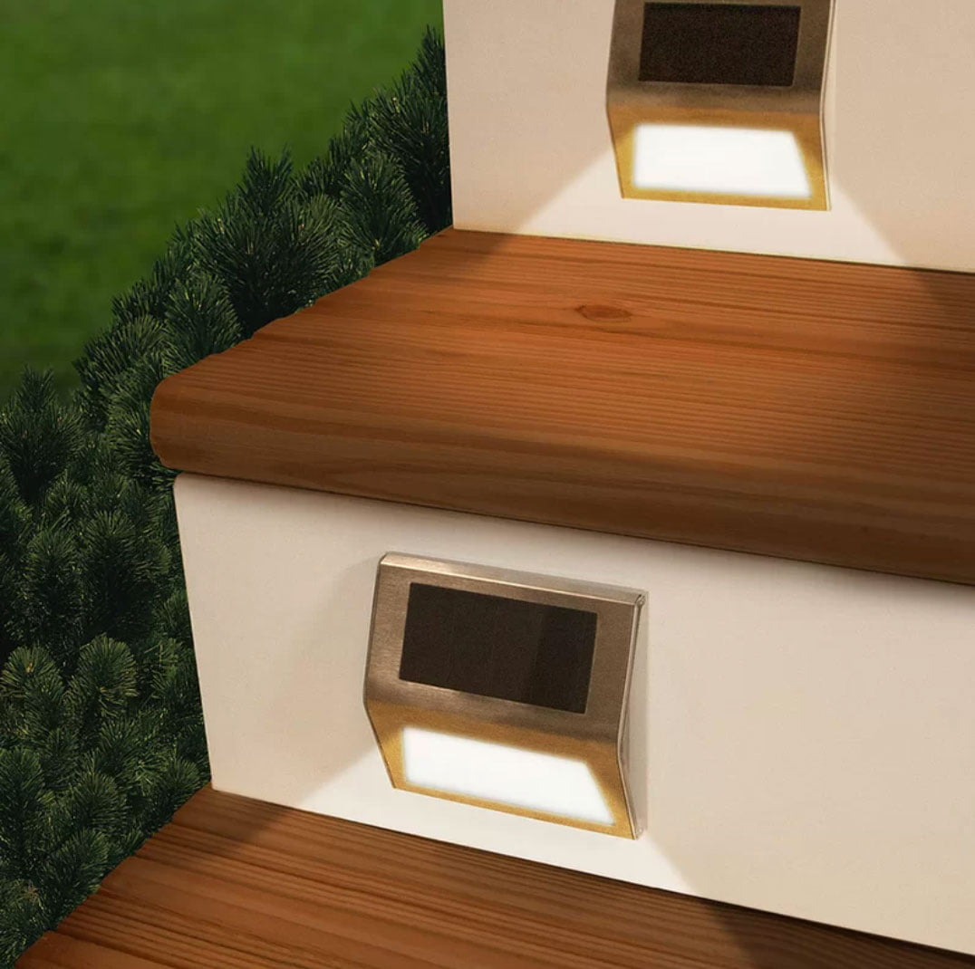 Touch of ECO Sunstep Solar Deck Lights
