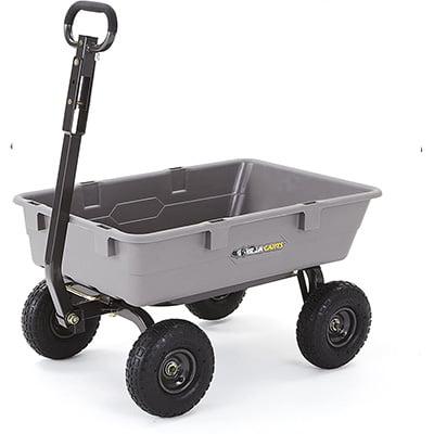 Gorilla Carts Garden Dump Cart