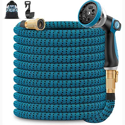 Unywarse Expandable Garden Hose with 10-Function Nozzle