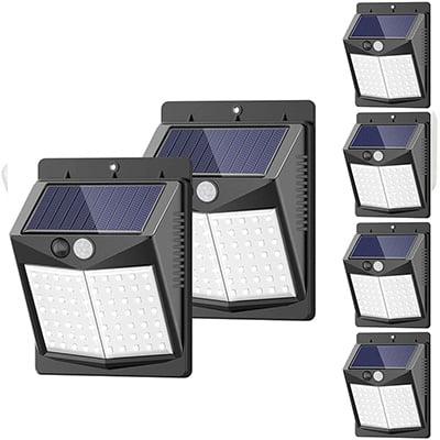 SEZAC Motion Sensor Solar Security Lights