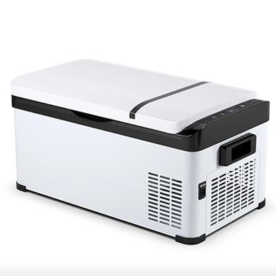 Costway 21-Quart Portable Refrigerator and Freezer