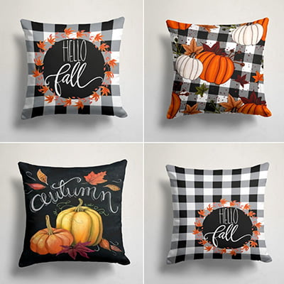 Fall Trend Pillow Cover
